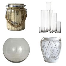 Glass Vases & Jars