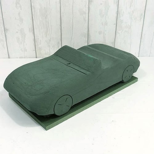 3D Convertible Car (76cm x 56cm x 20cm)