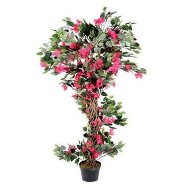 Artificial bougainvillea tree pink wholesale silk flowers artificial bougainvillea tree pink mightylinksfo