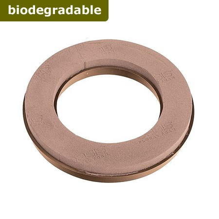 "Floral Foam Ring 12"" (Naturebase BIO)"