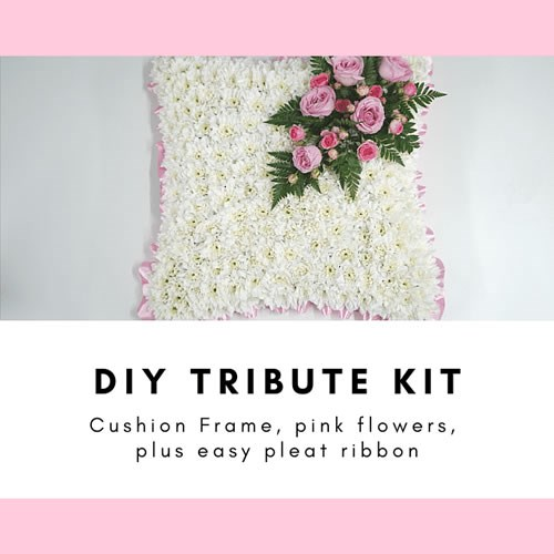 DIY CUSHION Funeral Tribute Kits