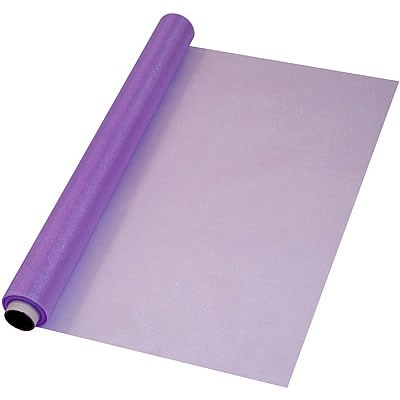Organza Soft Sheer Purple - 47cm