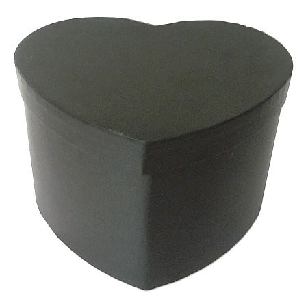 Presentation Boxes - Black Heart (extra large)