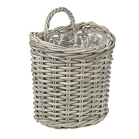 Rattan Basket - Wall Planter