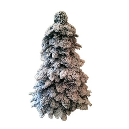 SPRUCE TREE SHAPE + SNOW