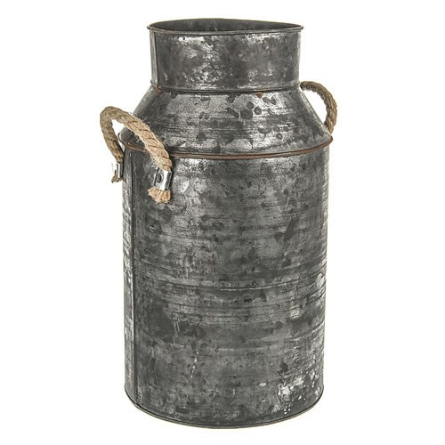Milk Churn - Antique Zinc Black