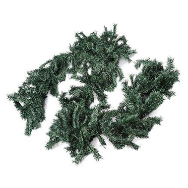 Artificial Garland - Plain Green (9ft)
