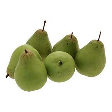 Small Artificial Pears - Green