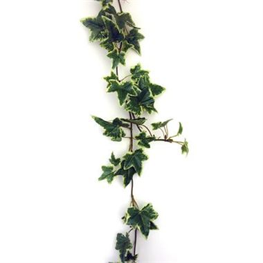 Artificial green ivy garland variegated wholesale silk flowers artificial ivy garland variegated mightylinksfo