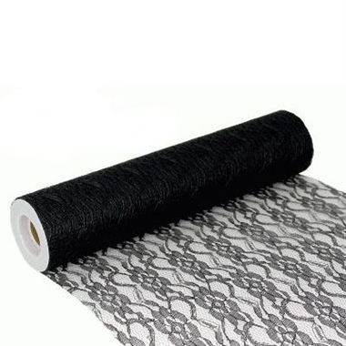 Lace Netting Black - 305mm