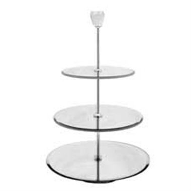 3 Tier Mirror Cake Stand