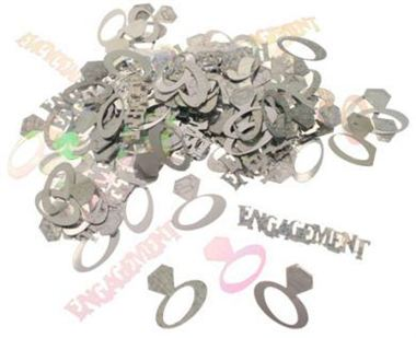 Table Confetti - Engagement Ring