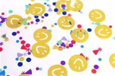 Table Confetti - Happy Faces