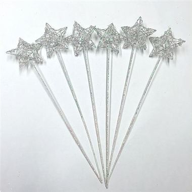 Star Wand Iridescent (x6)
