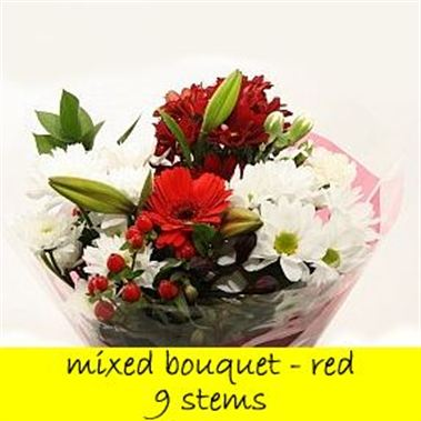 Bouquet Red - 9 stems