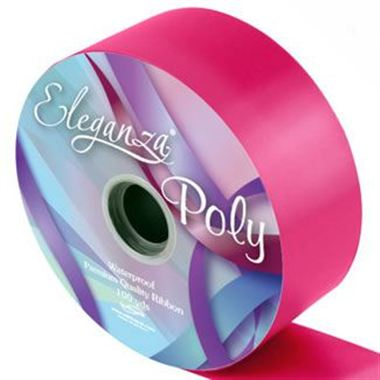 Ribbon Poly - Deep Cerise