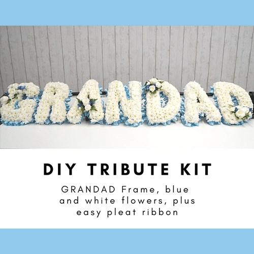 DIY GRANDAD Funeral Tribute Kits