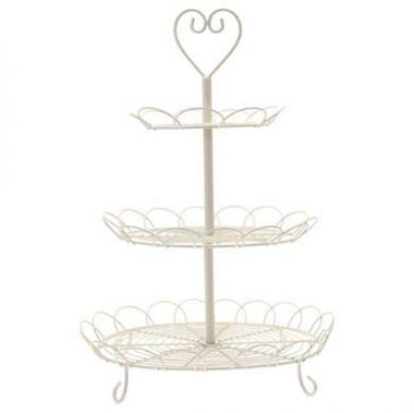 3 Tier Cream Cake Stand  sc 1 st  Triangle Nursery & Curly Cake Stand | Florist Supplies | Wholesale Flowers | Triangle ...
