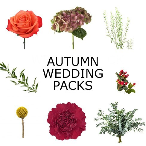 Wedding Flower Packs - Autumn