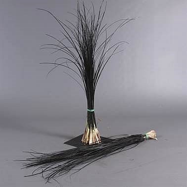 Beargrass Dyed Black