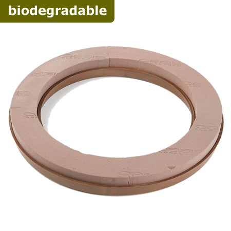 "Floral Foam Ring 16"" (Naturebase BIO)"