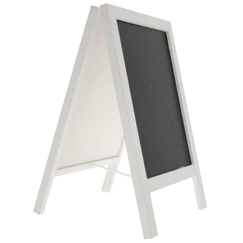 Blackboard Easel Large White (Double Sided)