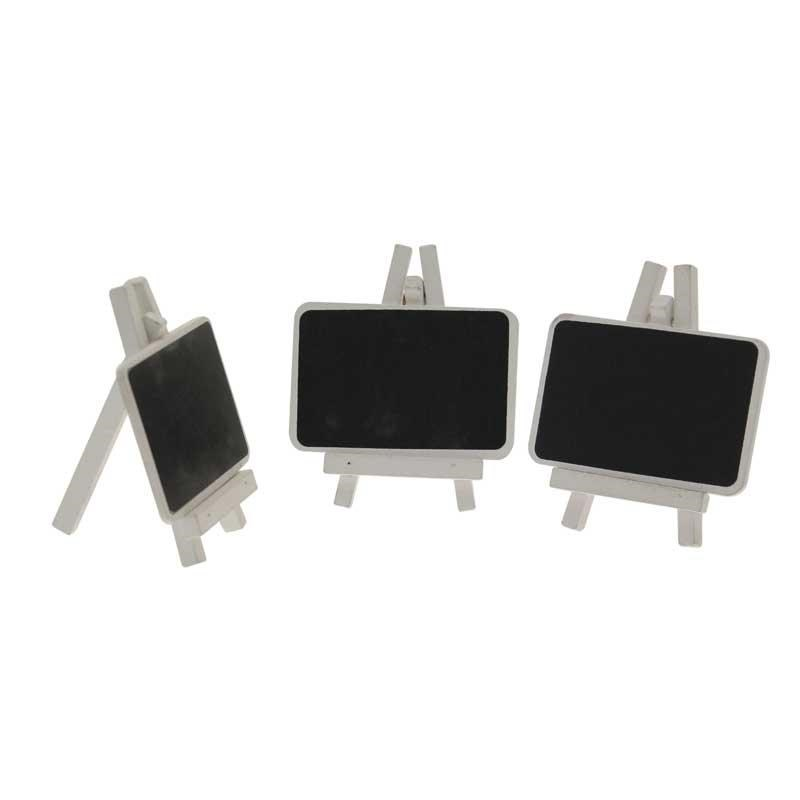 Blackboard Easels White (3 Pack)