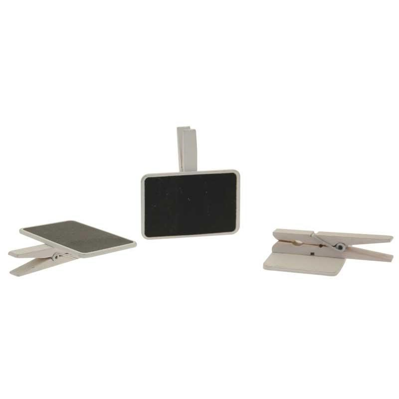 Blackboards on Pegs White (3 Pack)