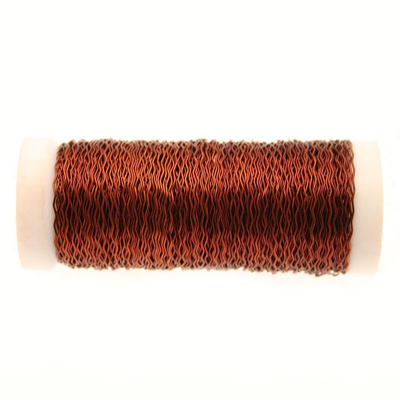 Wire - Bullion Chocolate Brown