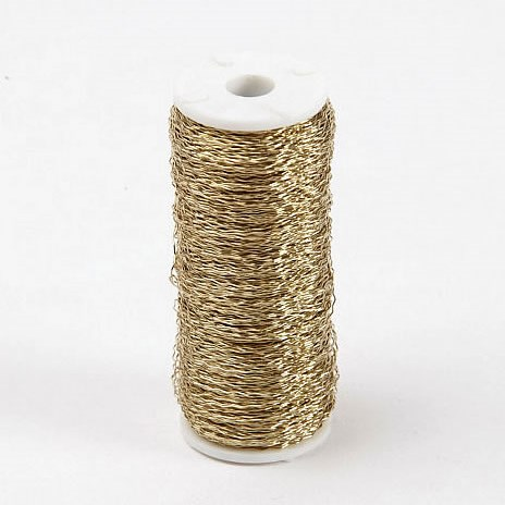 Wire - Bullion Gold (Large)