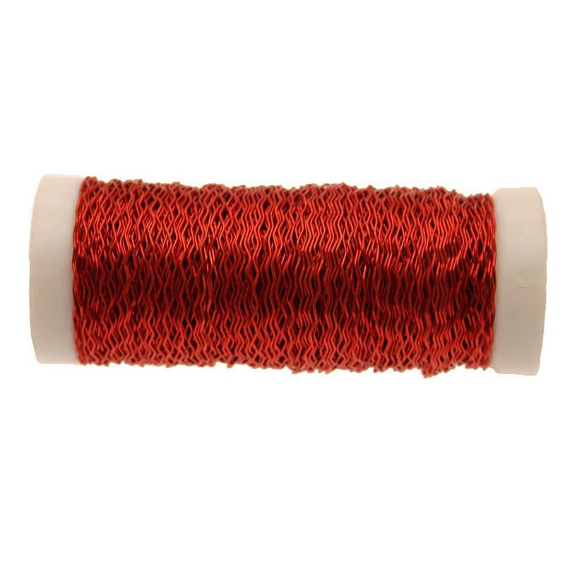Wire - Bullion Red