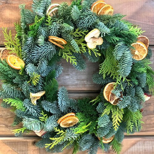 "DIY 16"" Christmas Wreath Kit (for 1)"