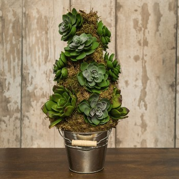 DIY Artificial Echeveria Xmas Tree Kit