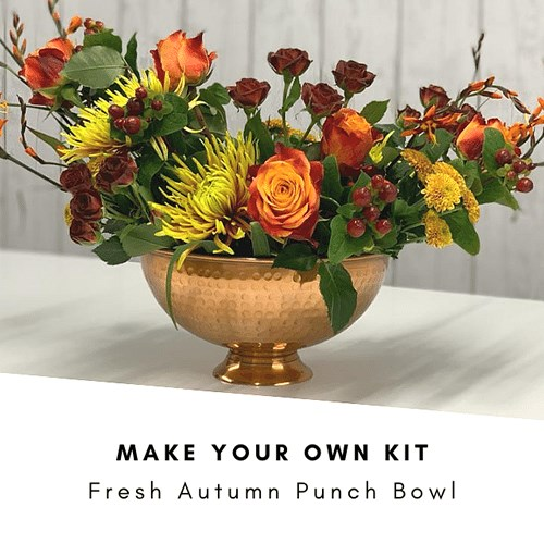 DIY Fresh Autumn Punch Bowl Kit £40 (Inc VAT)