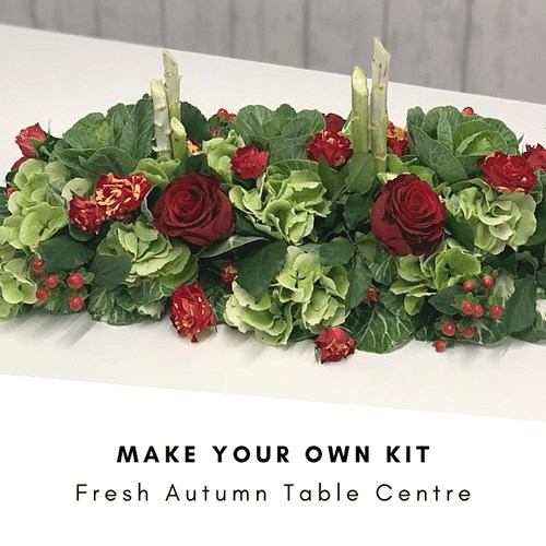 DIY Fresh Autumn Table Centre Kit £30 (Inc VAT)