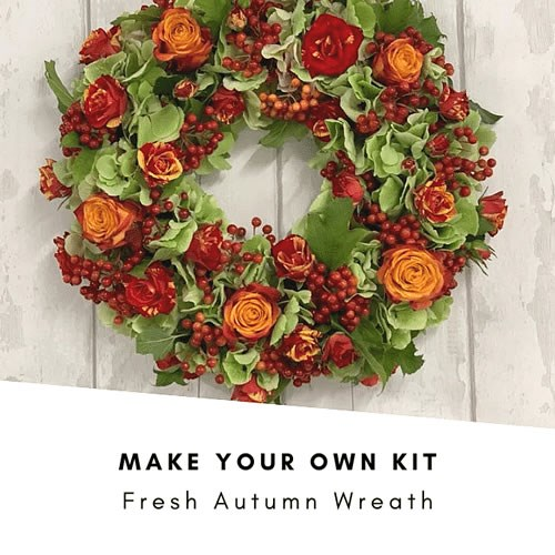 DIY Fresh Autumn Wreath Kit £40 (Inc VAT)