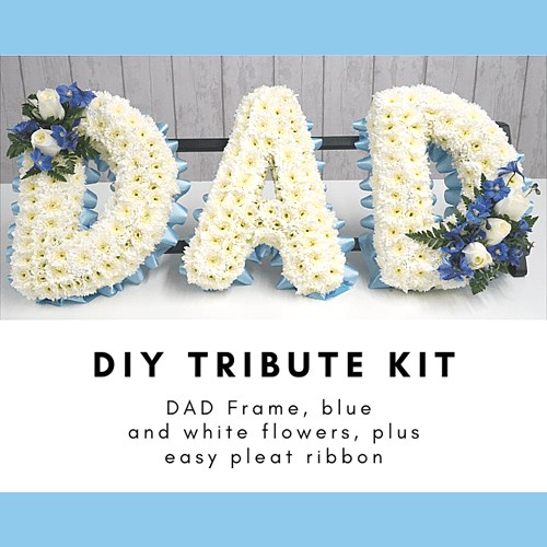 DIY DAD Funeral Tribute Kits