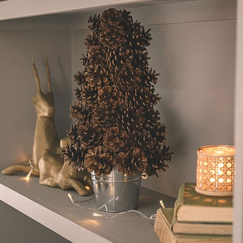 DIY Pine Cone Tree Kit