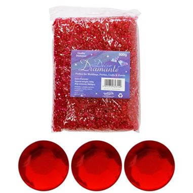 Diamante Diamonds - Red