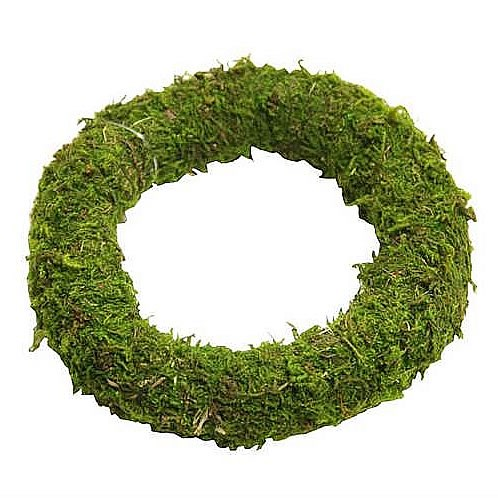 "Preserved Asia Moss Rings (16"")"