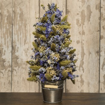 DIY Dried Flower Tree Kit (Blue Fragrant)