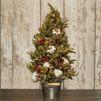 DIY Dried Flower Christmas Tree Kit
