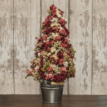 DIY Dried Flower Tree Kit (Pink)