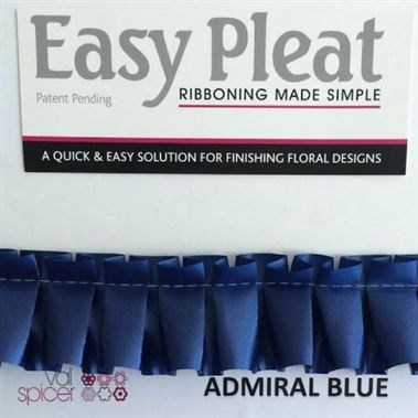 Ribbon Easy Pleat - Admiral Blue