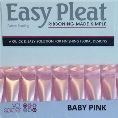 Easy Pleat Ribbon - Baby Pink
