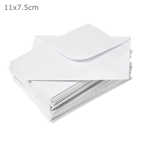 Envelopes for Message Cards - White Paper