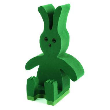 3D Sitting Rabbit (38cm x 30cm)