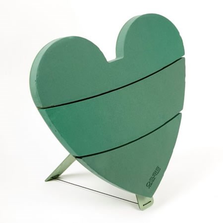 Floral Foam Titan Heart on Stand 75cm