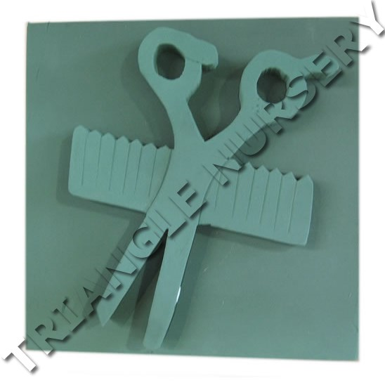 Floral Foam Scissors & Comb (2D)