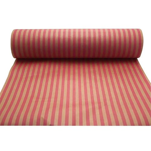 Kraft Paper - Pink Stripes